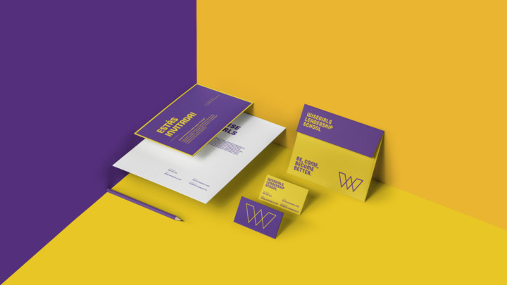 Brand Design and Communication for a Female Leadership School
